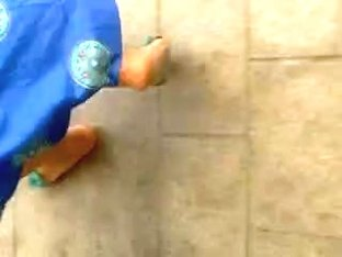 arab girl with cute sandals
