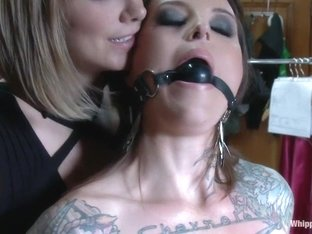 Crazy fetish, lesbian porn video with horny pornstars Vivienne Del Rio and Maitresse Madeline Marl.