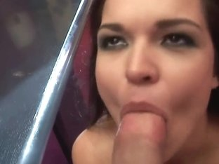 Teen bitch Sandra Rodriguez is getting nailed