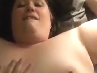 Holy shit !!! this bbw moans like an brute in heat. she wants to be breeded and gets a creampie !!!