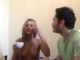 My sex paramour playing with bald bawdy cleft in the morning