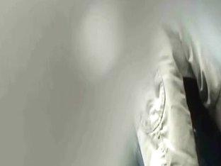 Shameless chick peeing in public filmed by spy cam