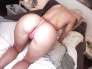 Big ass blonde white girl fucked hard