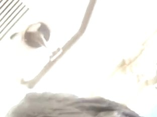 Two stunning butt cheeks filmed in upskirt vid