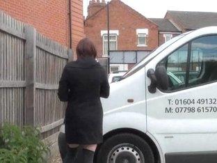 Dilettante honey Indigo exposed in Northampton and teasing exgf