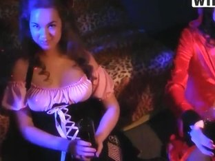 Salacious student bash with Gillian turns into a sex party
