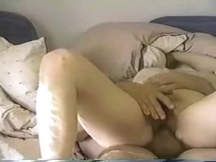 Cum on wife's hairy pussy sex video