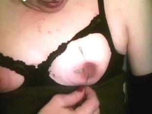 much neddles in my nipples