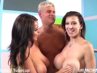 Incredible pornstar in Hottest Big Tits, Big Cocks porn scene
