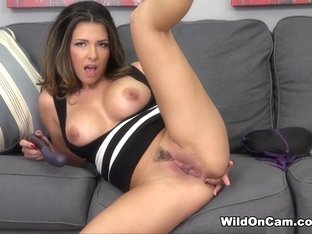 Fabulous pornstar Danica Dillon in Exotic Fake Tits, Masturbation sex scene