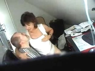 Hidden cam catches my mom having fun with boy friend
