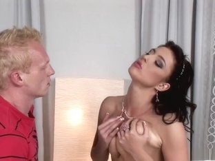 Exotic pornstar in best brazilian, big tits sex scene