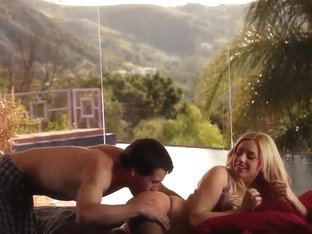 A nice outdoor hardcore fuck with Lexi Belle and her lover