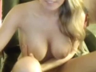 Hot busty blonde webcam pussy play