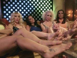 Footsie Footsie Bang Bang A Lesbian Foot Bang