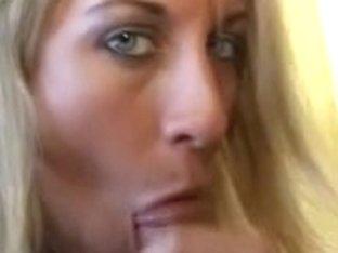 Golden-Haired cocksmoker with smokin' fetish disrobe teases