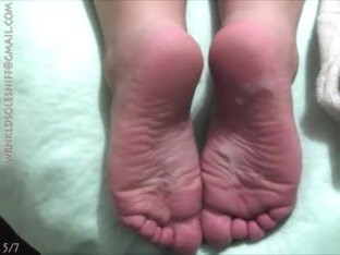 7 loads on cammie's soles!