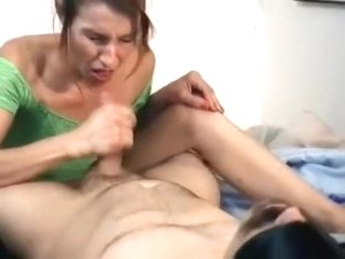 handjob, swallow cum, swapping