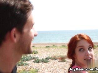 Horny pornstar Amarna Miller in Crazy Small Tits, Redhead adult clip