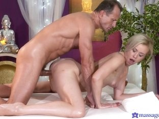 Crazy pornstars Linda Summer, George in Amazing Blonde, Small Tits porn scene