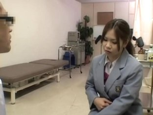 Kinky hot medical exam for a smoking hot Japanese gal