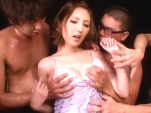 Amazing Japanese girl Tsubasa Amami in Crazy JAV censored Cunnilingus, Hairy clip