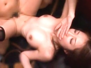 Exotic Japanese slut Kokoro Maki, Megu Fujiura, Risa Kasumi in Amazing Stockings, Office JAV movie