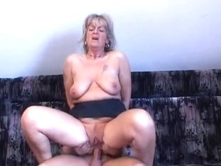 Granny Receives A Wazoo Pounding