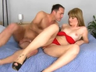 Charlyse Bella is drilled by James Brossman