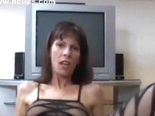 Slim slut takes care of my cock