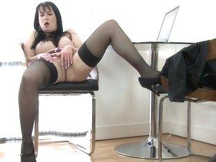 Tanya Cox in The Hot Secretary Scene