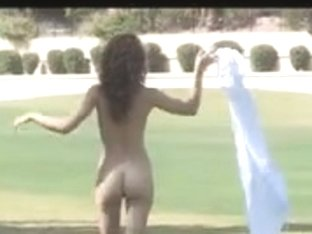 Malena Morgan Nude on Golf Course