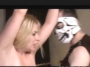 Chained Whipped And Toyed Blonde