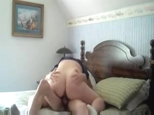Wife At Home Bedroom Ride