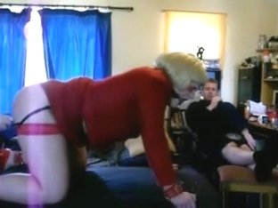 Ugly serf girl gets her ass doggystyle fucked and dildo masturbates by a guy and his gf