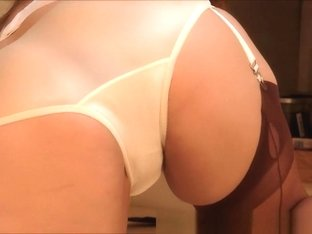 Incredible Amateur clip with Brunette, Stockings scenes