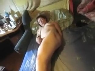 My wife toys her cunt and asshole and begs me to help her