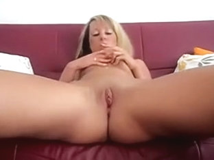 Sexy amateur blonde mature lady in hawt golden leather boots