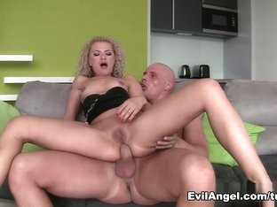Fabulous pornstars Angel Diamonds, Leny Ewil in Incredible Blonde, Big Ass xxx scene