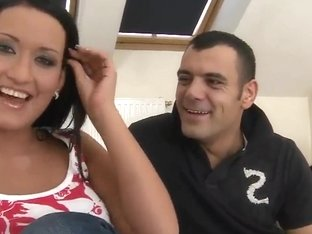 Carmen Black stuffs big dick of horny Tony