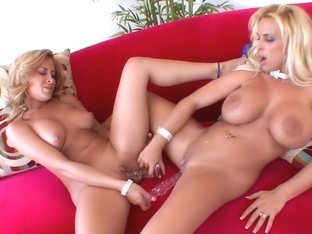 Exotic pornstars August Night and Holly Halston in best blowjob, milf sex video