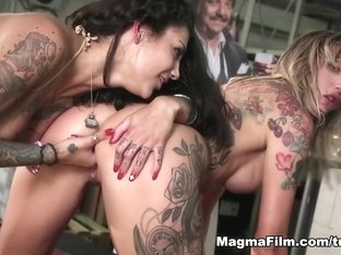 Hottest pornstars Paula Rowe, Bonnie Rotten in Incredible Big Tits, Anal adult movie