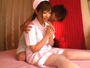 Hottest Japanese chick Cocomi Naruse in Exotic nurse, panties JAV clip
