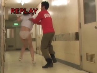 Horny panty sharking video with the nurse in clinic