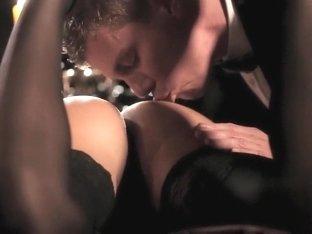 Exotic pornstar in incredible brunette, small tits sex scene