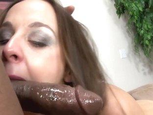 Horny pornstar Poppy Morgan in amazing cumshots, interracial sex clip