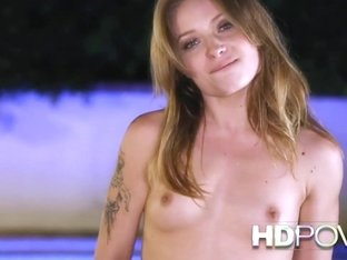 HD POV She strips then begs you to cum inside her