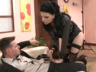 Best pornstar Alexandra Gold in exotic facial, european adult clip