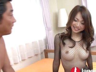 Japanese Milf likes creampie