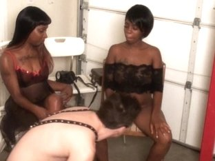 BlackGirlsWhiteSlaves: Your Chair Has A Hole In It